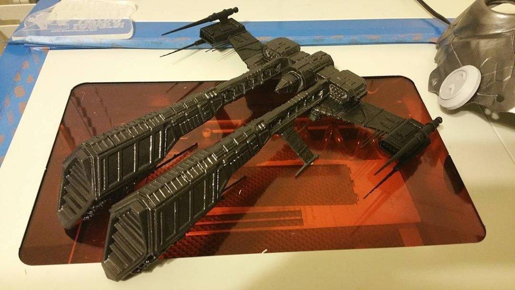 Rifter - 3D printing spaceships
