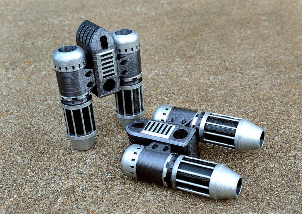 Guardians of the Galaxy 3d printed Star-Lord Boot Jets