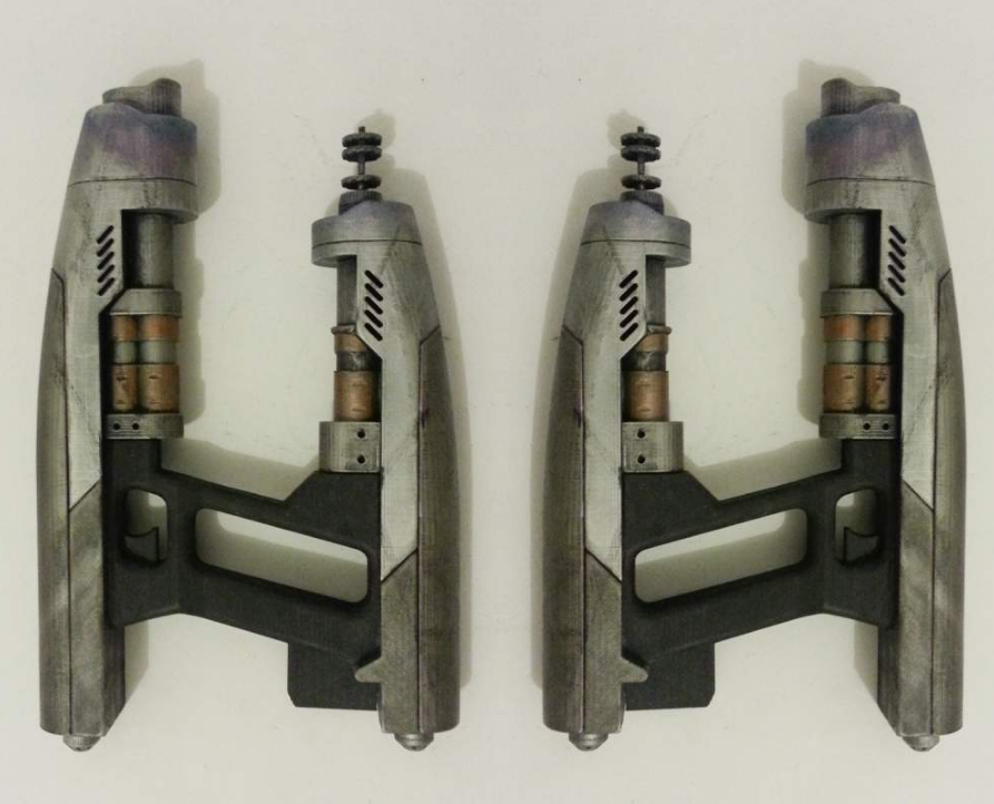 Guardians of the Galaxy Element Gun of Star-Lord 3D Printed