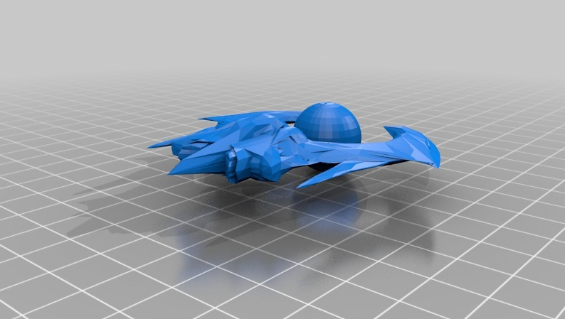 Tempest StarCraft - 3D printing spaceships