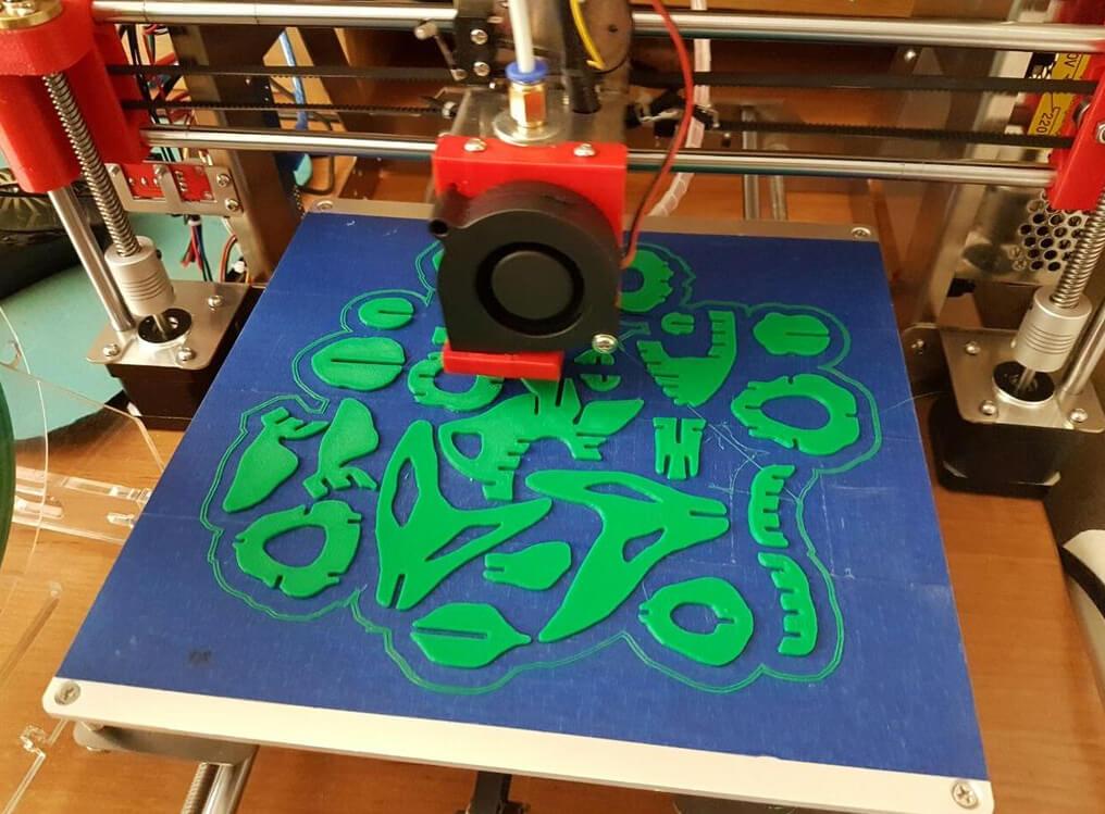 Goldfish 3D printed puzzle
