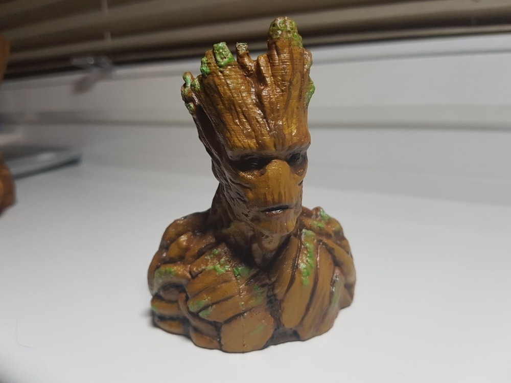Groot 3d Print Models To Make Your Day Gambody 3d Printing Blog
