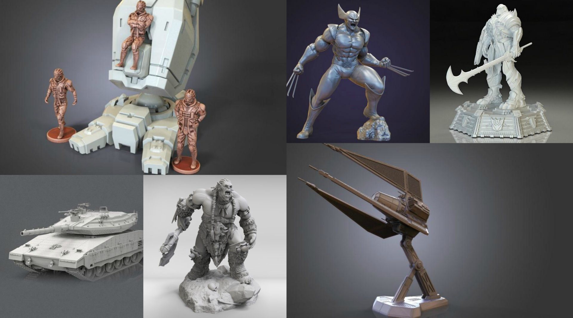July Roundup: 3D Models of the Month