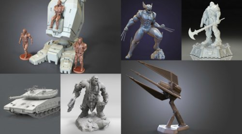 July Roundup: 3D Printing Models of the Month