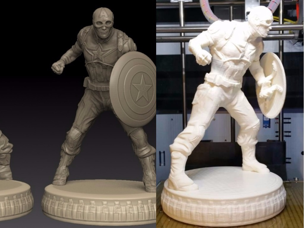 marvel miniatures for 3d printing