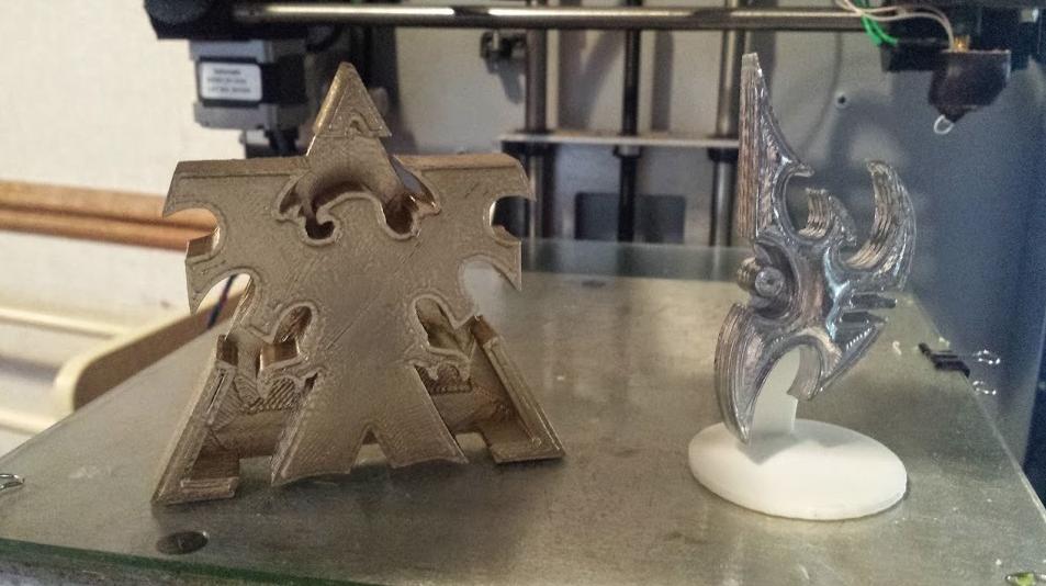 3d printing starcraft logo