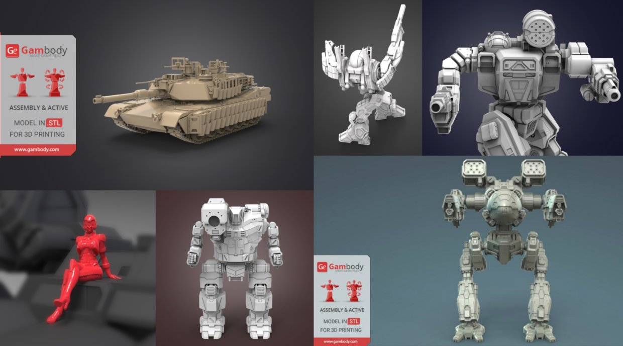 August Roundup: 3D Models of the Month