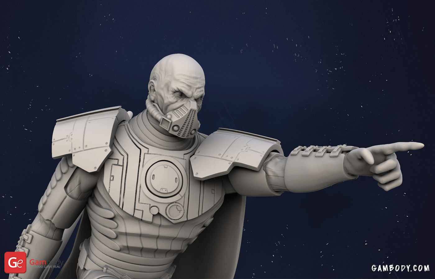 Darth Malgus 3D Printing Figurine