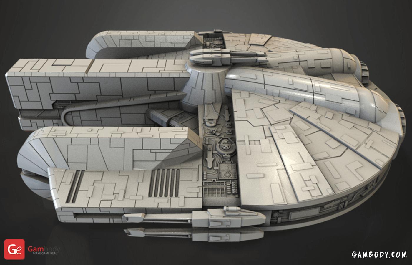 Ebon Hawk 3D Printing Model