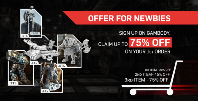 Sign up on Gambody and Claim Your Discount