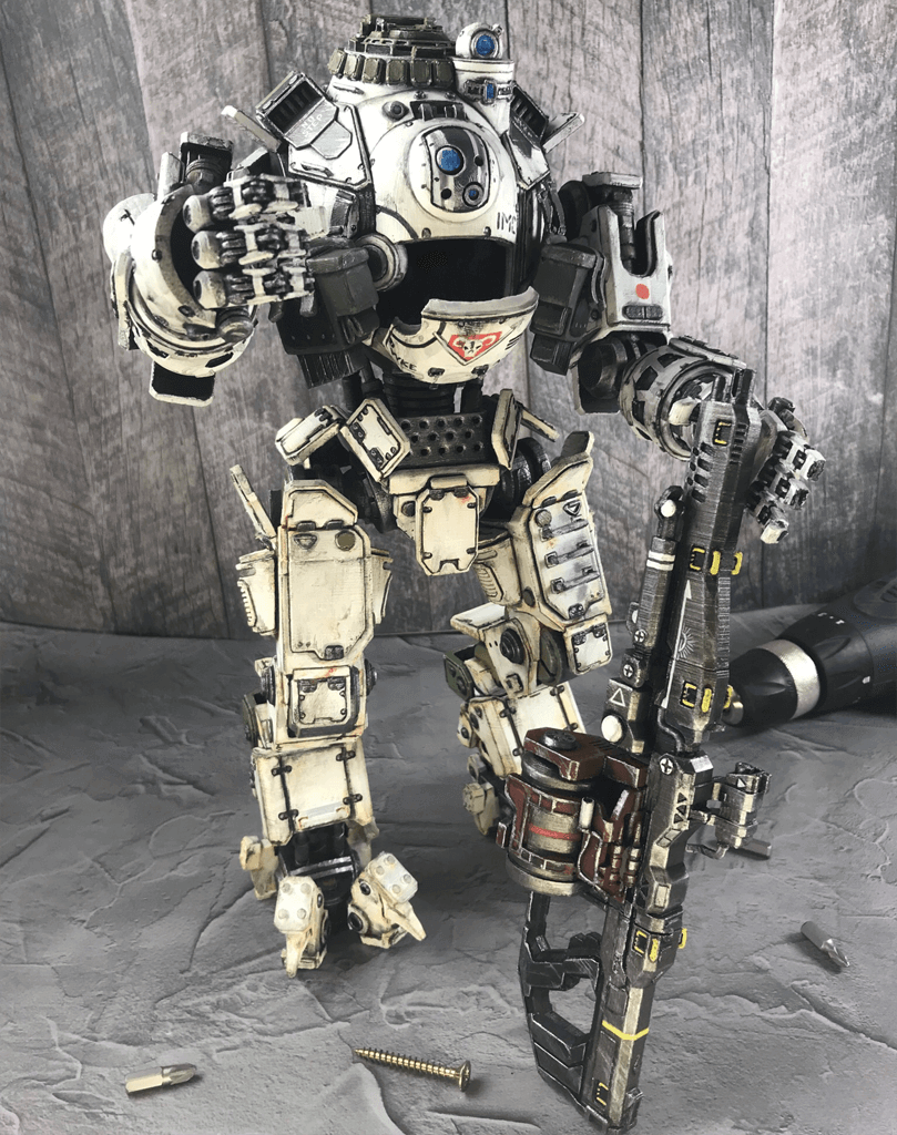 Atlas Titan 3D printed