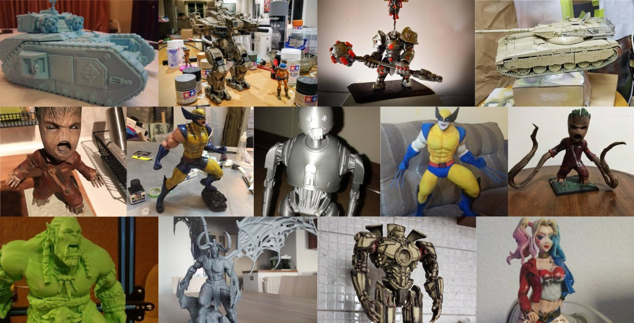 3D Printed Miniatures Pick of the Month