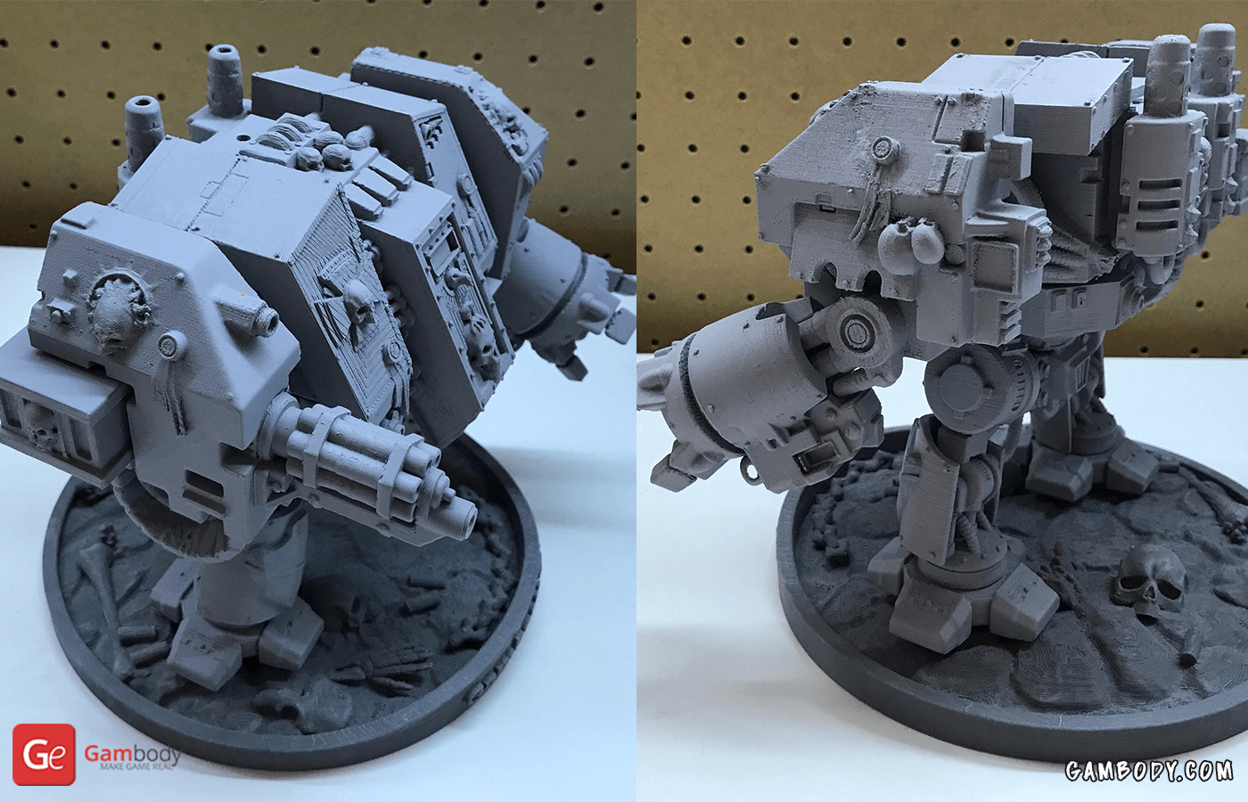 Dreadnought 3D Printing Model Photo 2