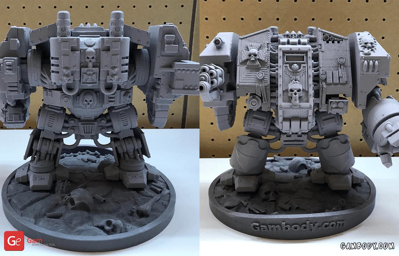 Dreadnought 3D Printing Model