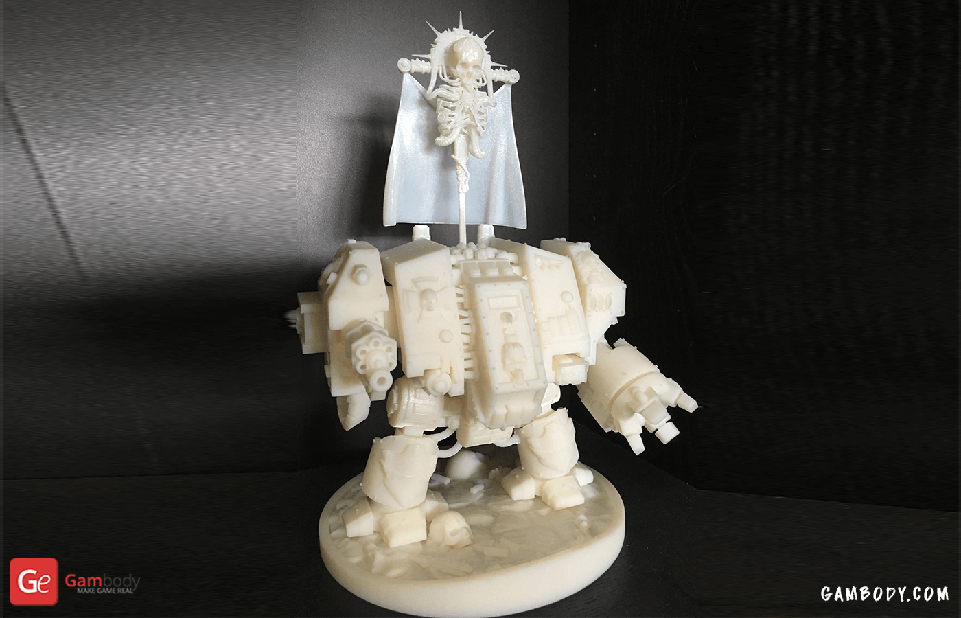 Dreadnought 3D Printing Model Photo 3