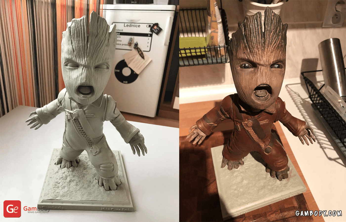 Groot 3D Printing Figurine Photo 6