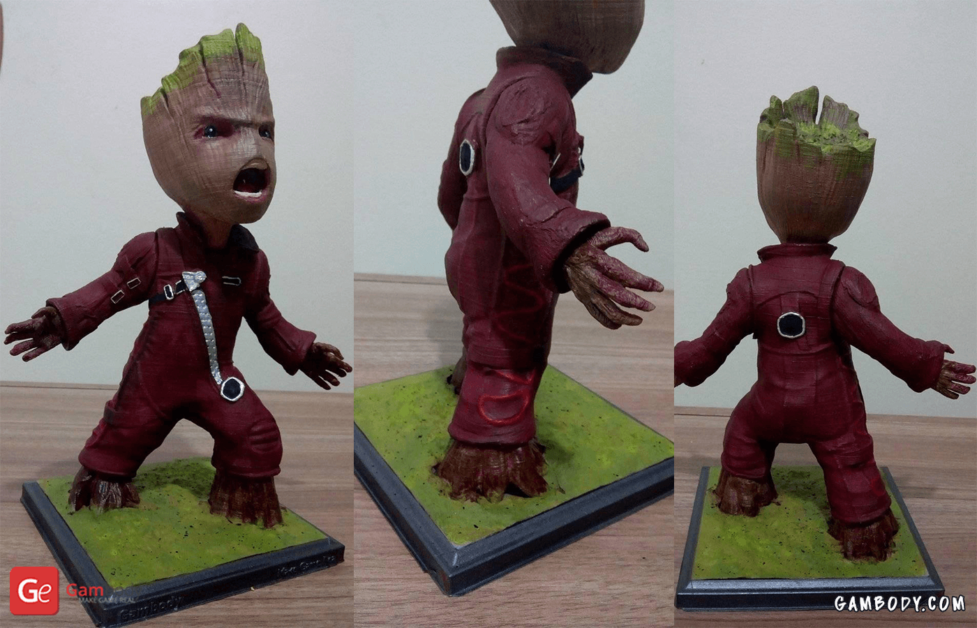 Groot 3D Printing Figurine Photo 4