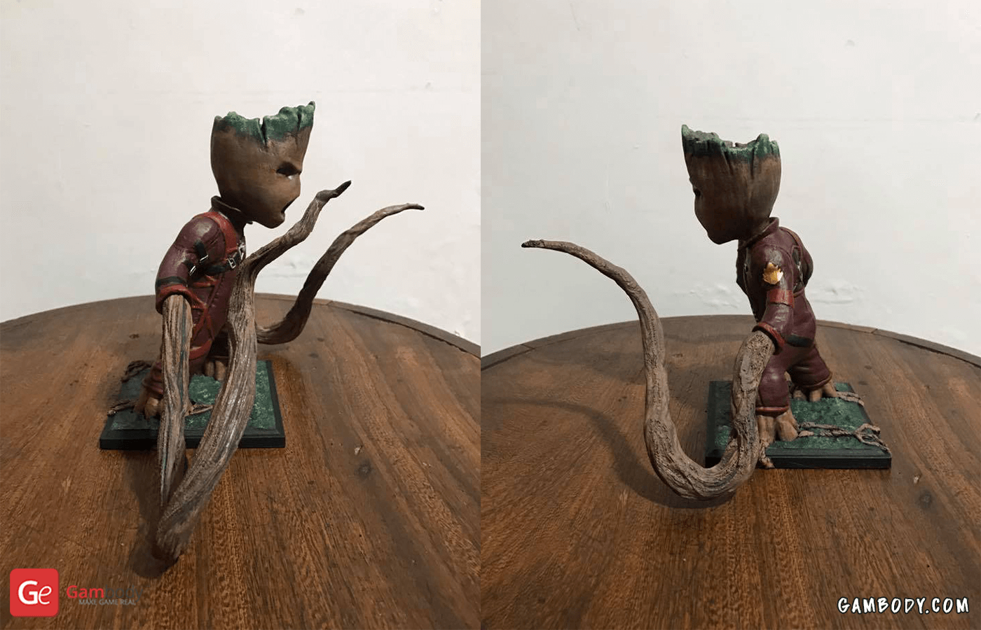 Groot 3D Printing Figurine Photo 2