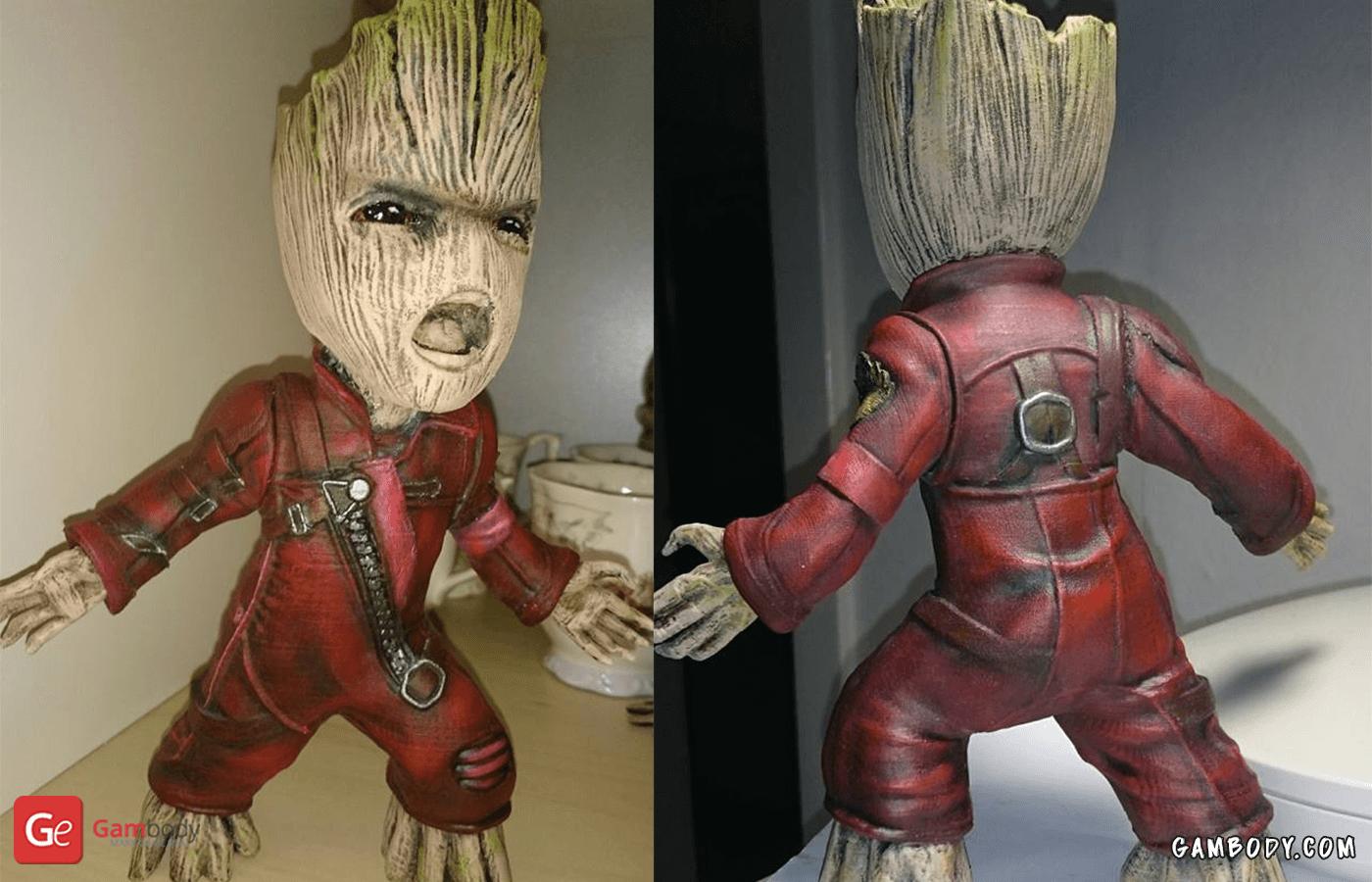 Groot 3D Printing Figurine