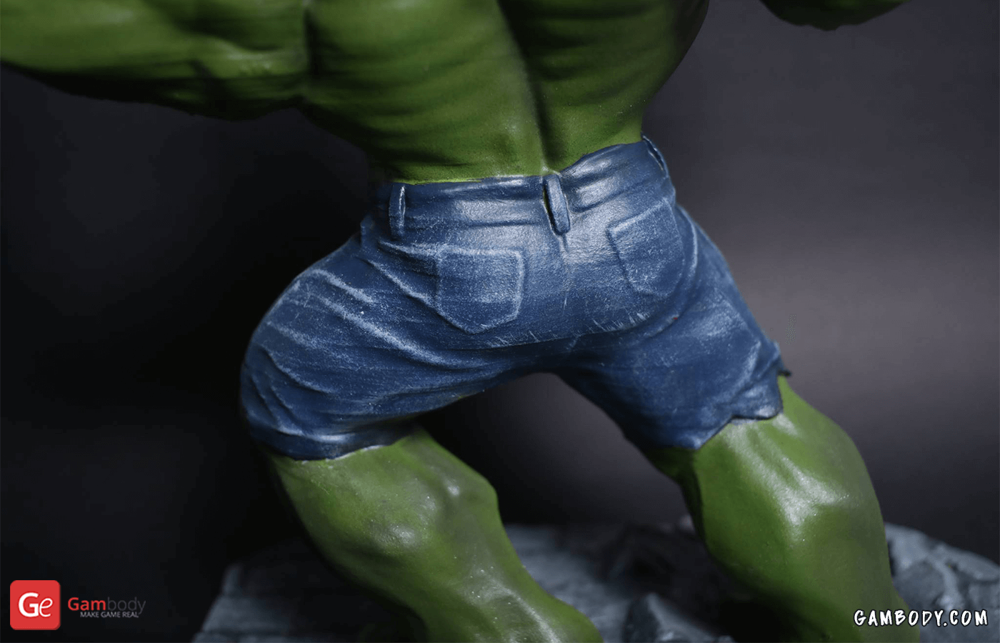 Hulk 3D Printing Figurine Photo 3