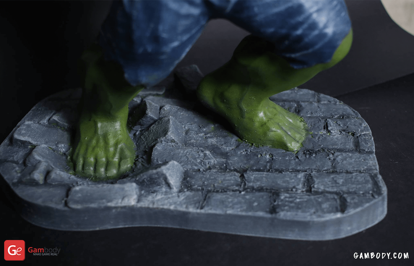 Hulk 3D Printing Figurine Photo 2