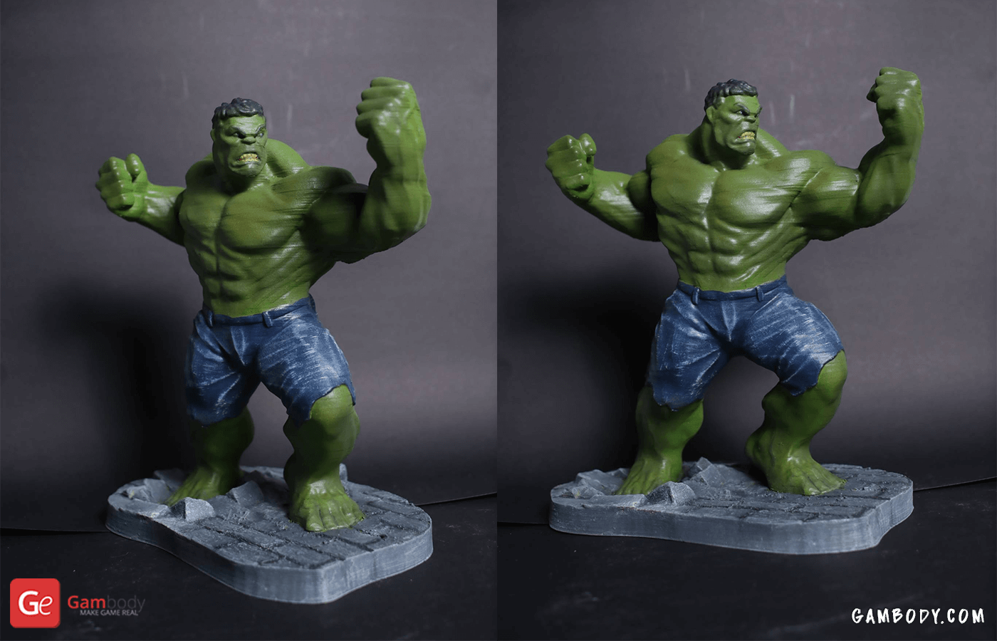 Hulk 3D Printing Figurine