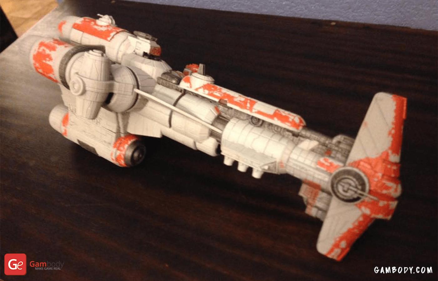 Hammerhead Corvet 3D Printing Model