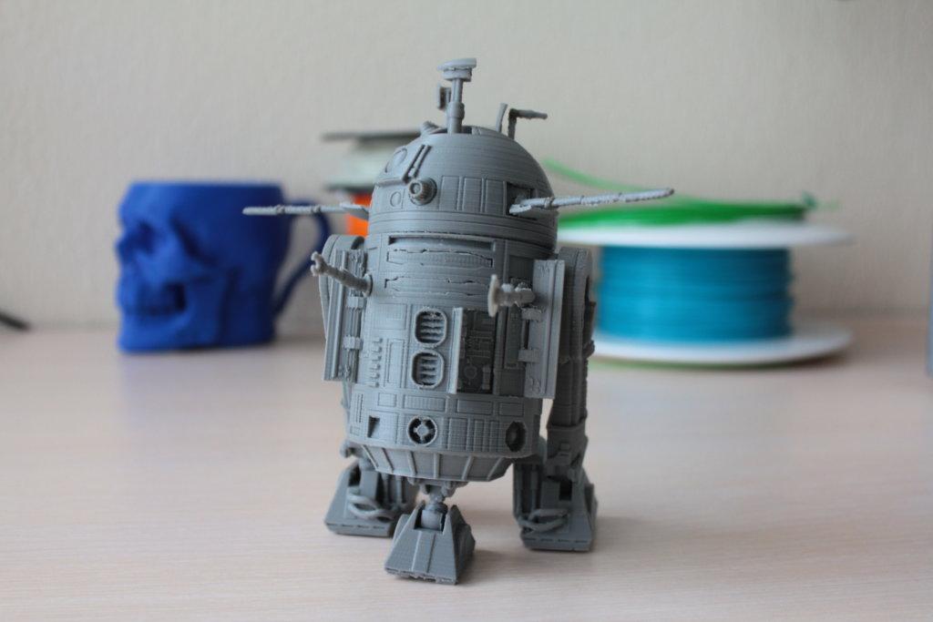 R2-D2 3d printed
