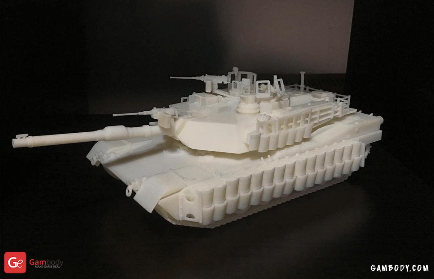 Abrams 3D Printing Model