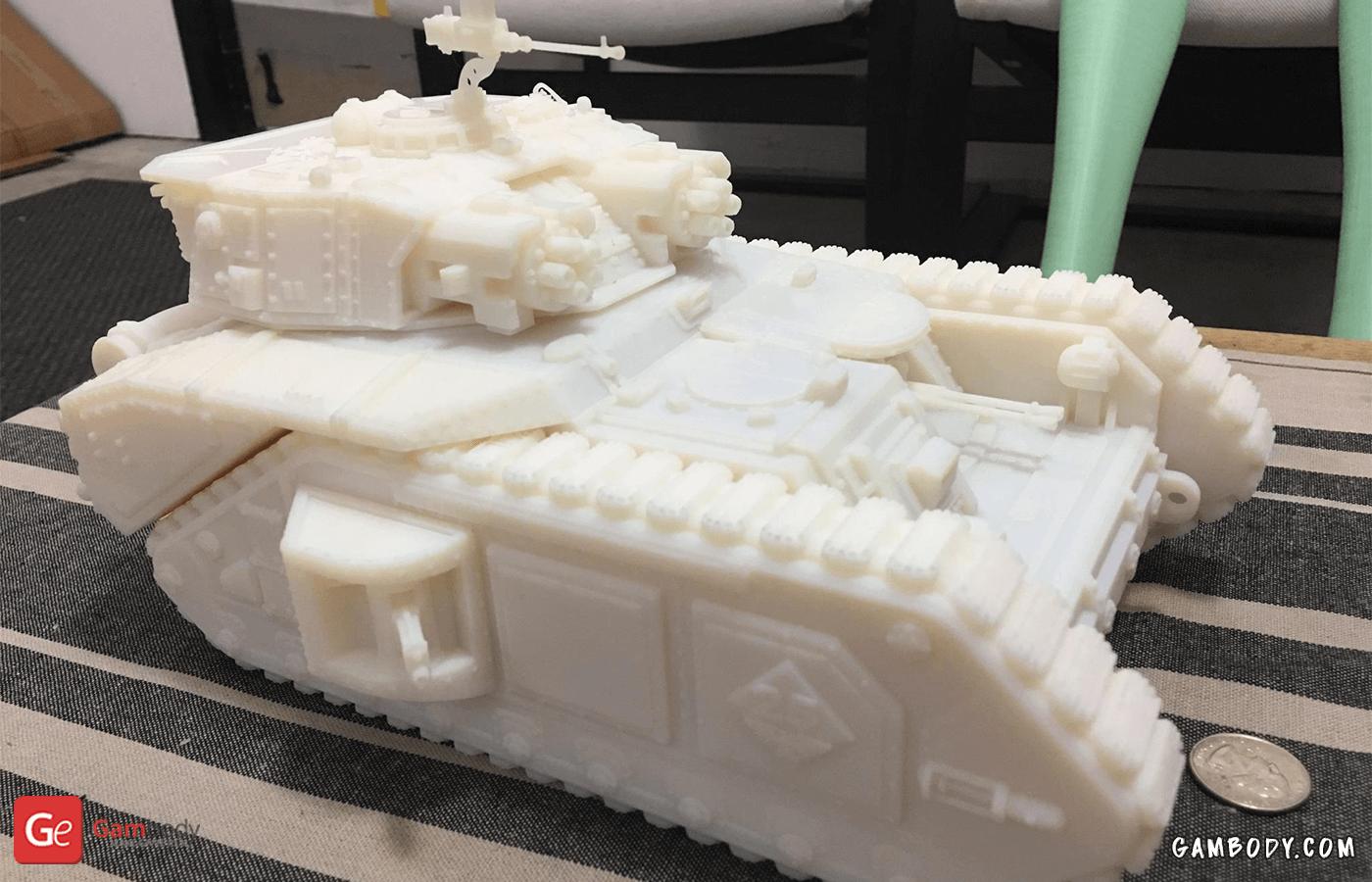 Vulcan Tank 3D Printing Model Photo 3
