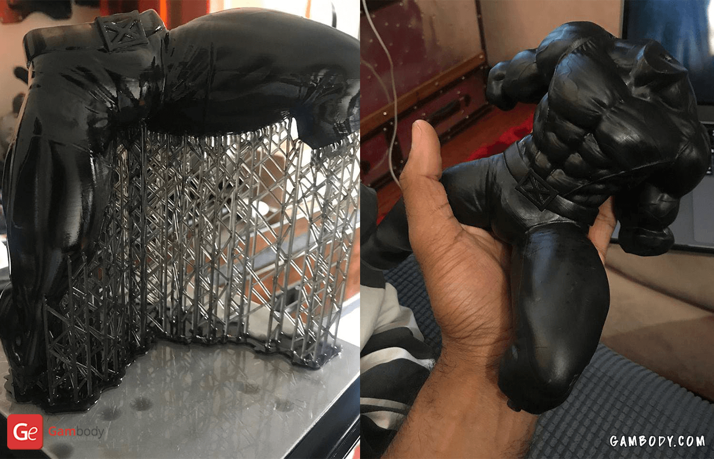 Wolverine 3D Printing Figurine Photo 2