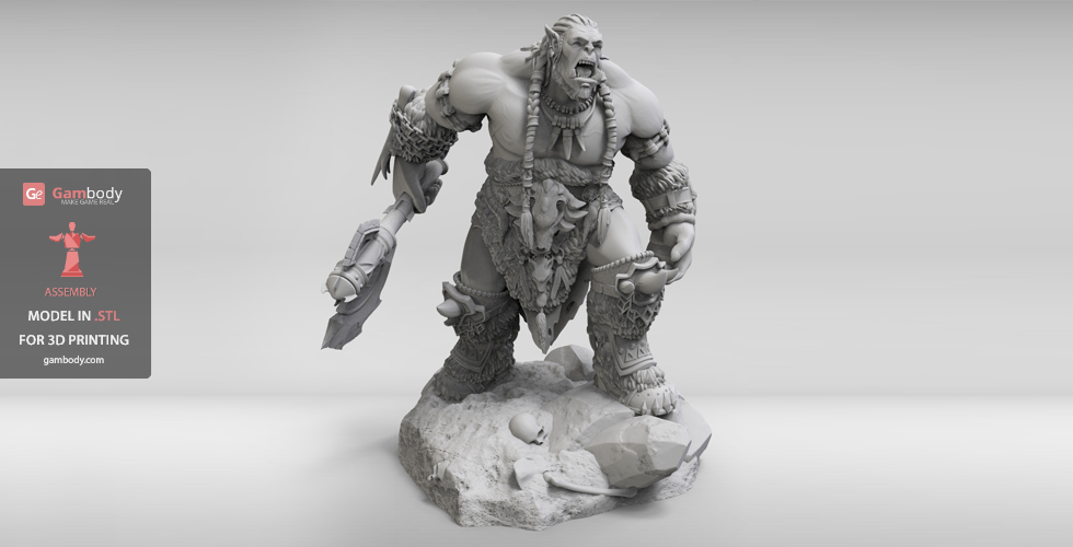 WoW Durotan for 3D printing