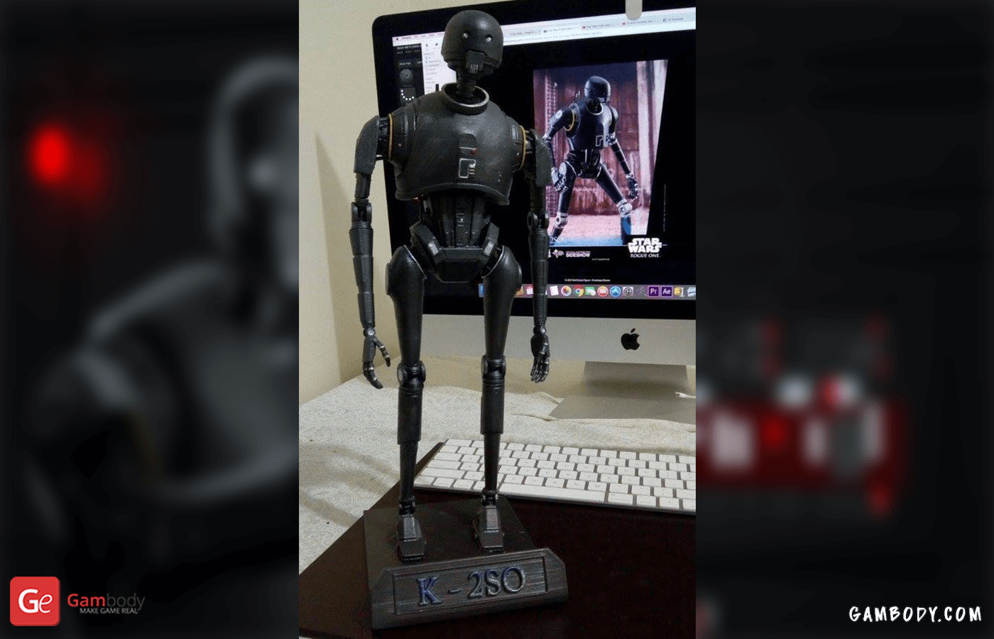 K-2SO 3D Printing Figurine
