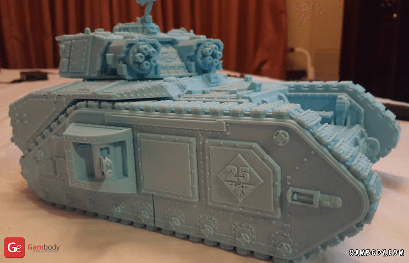 Vulcan Tank 3D Printing Model Photo 2