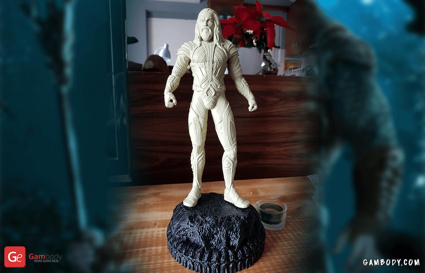 Aquaman 3D Printing Figurine