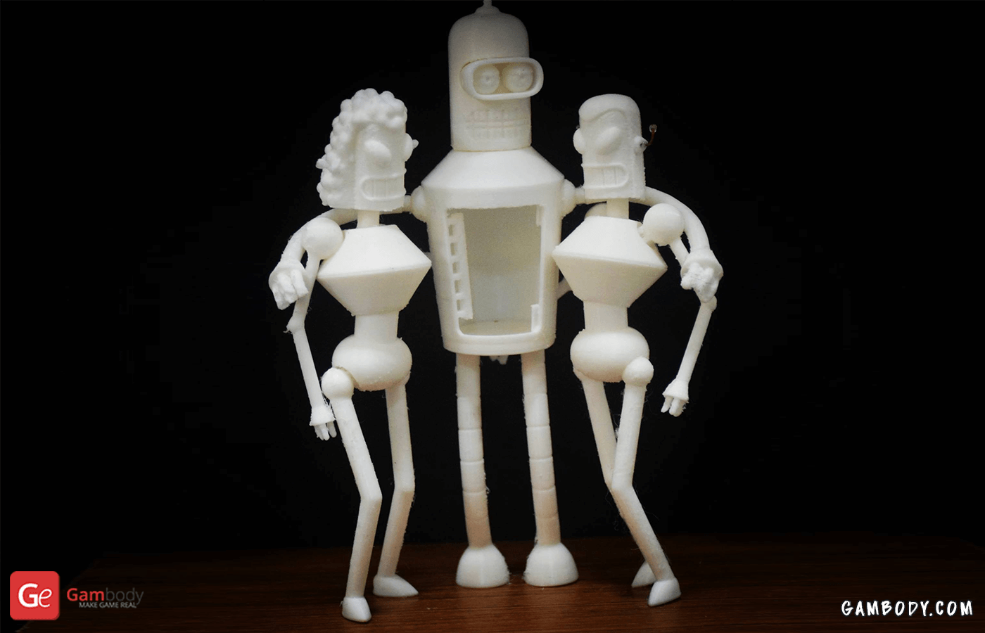 Bender 3D Printing Figurine