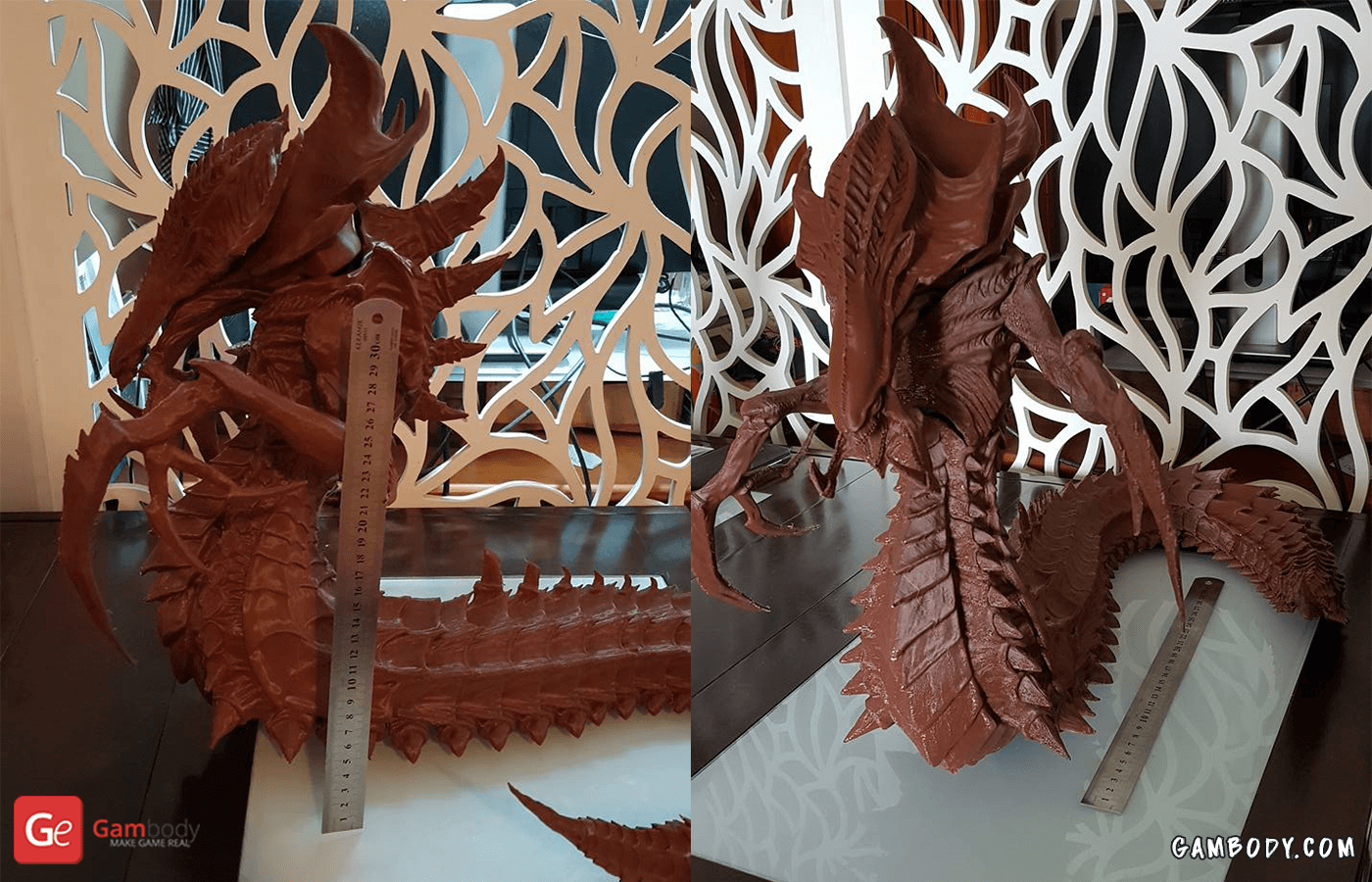 Hydralisk 3D Printing Figurine Photo 4