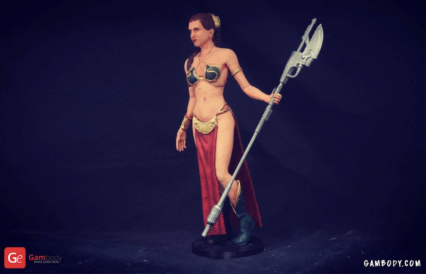 Princess Leia 3D Printing Figurine