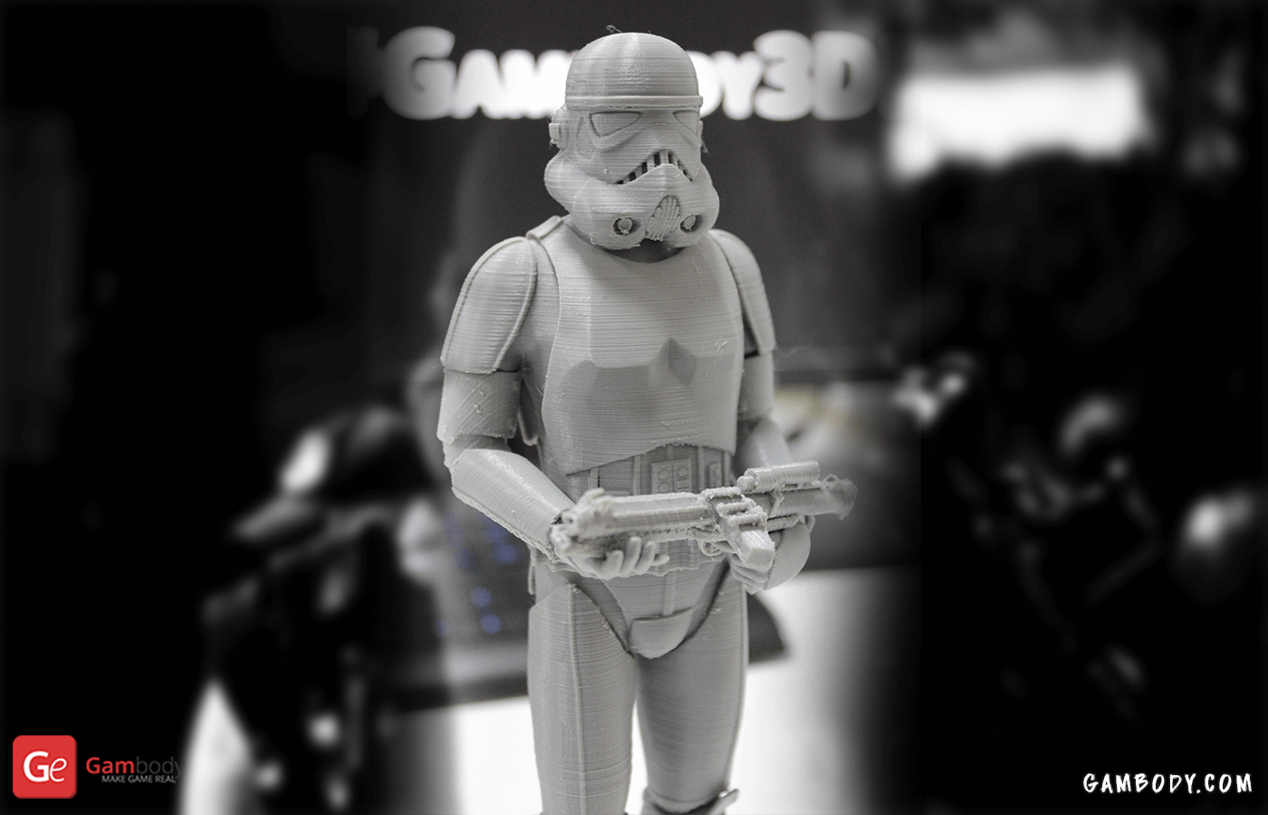 Storm Trooper 3D Printing Figure