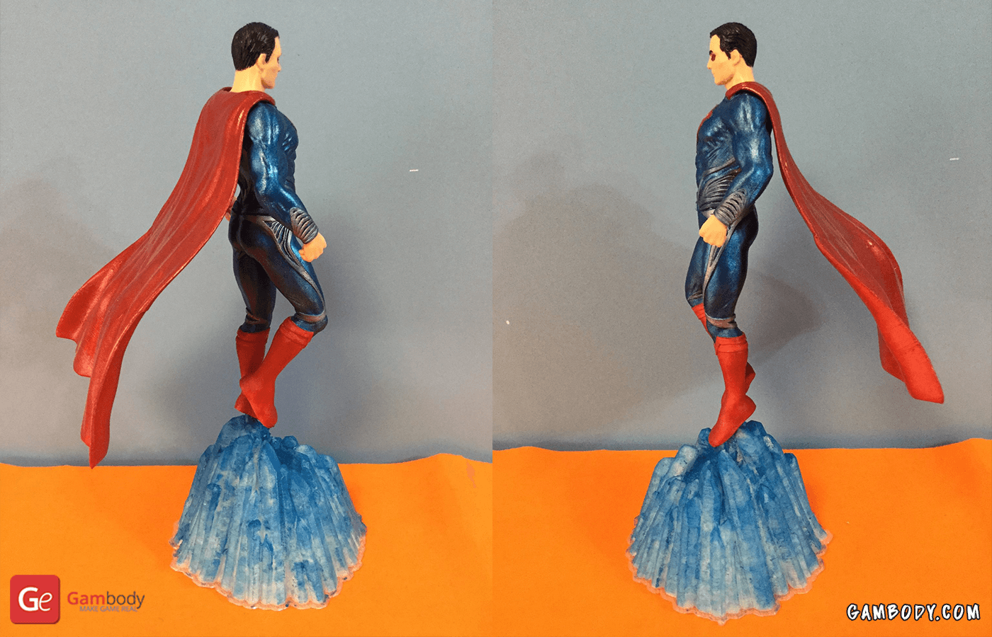 Superman 3D Printing Figurine Photo 2