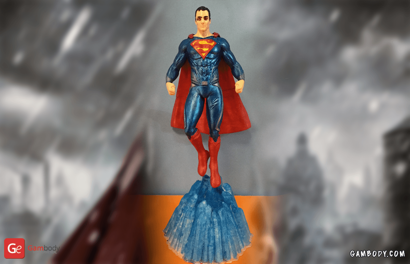 Superman 3D Printing Figurine