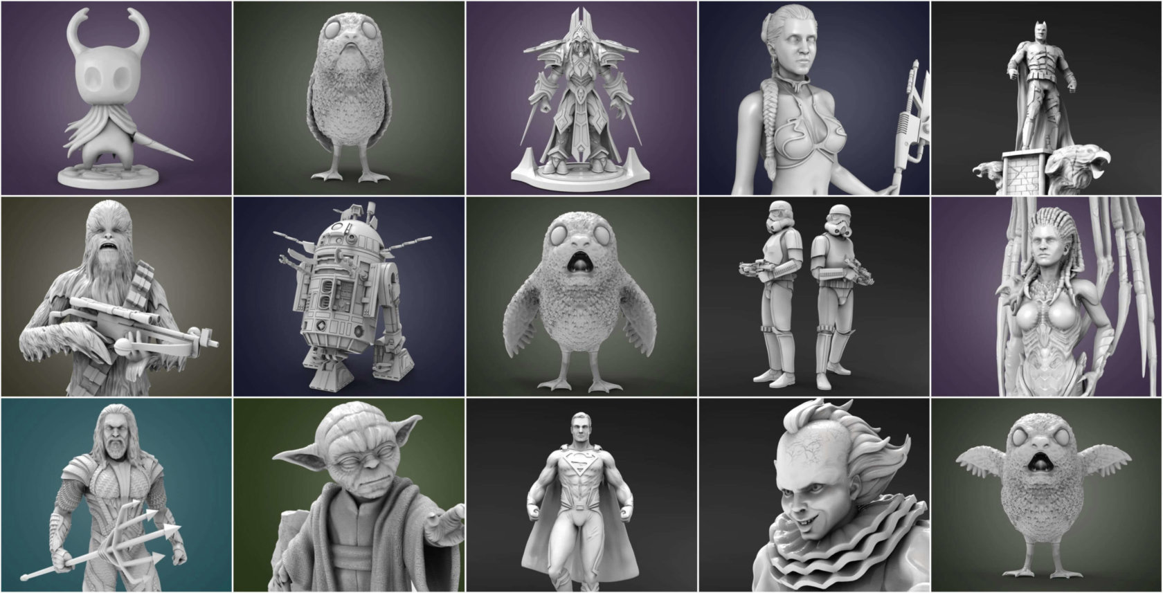 3D Printing Miniatures Pick of the Month – December'17