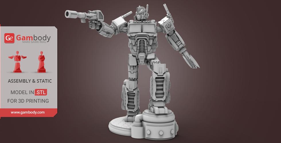 3D printing Optimus Prime