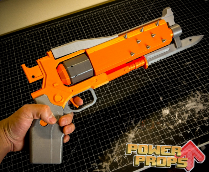 3d printing cosplay weapon