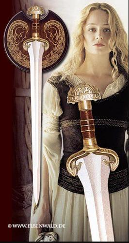 Eowyn 3D printing cosplay sword
