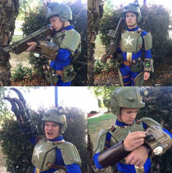 Fallout 4 3d printing cosplay suit