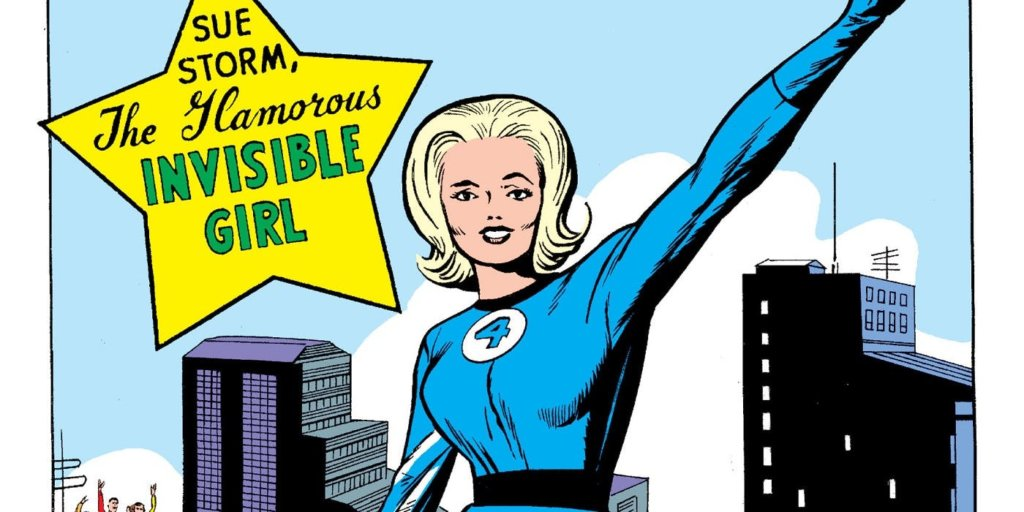Invisible girl superhero