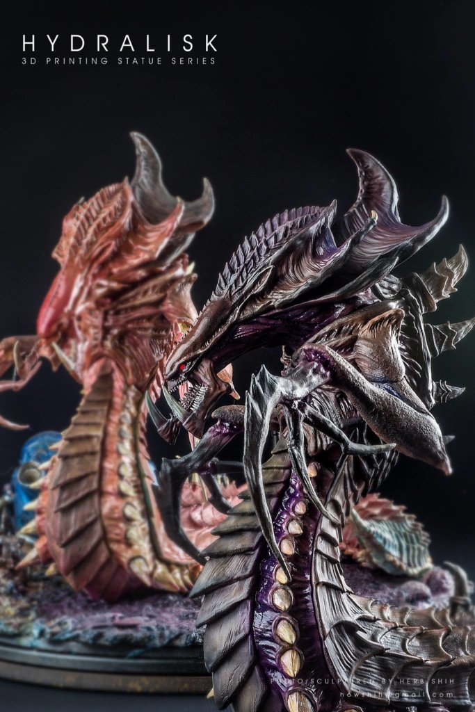 Hydralisk 3D Printing miniature