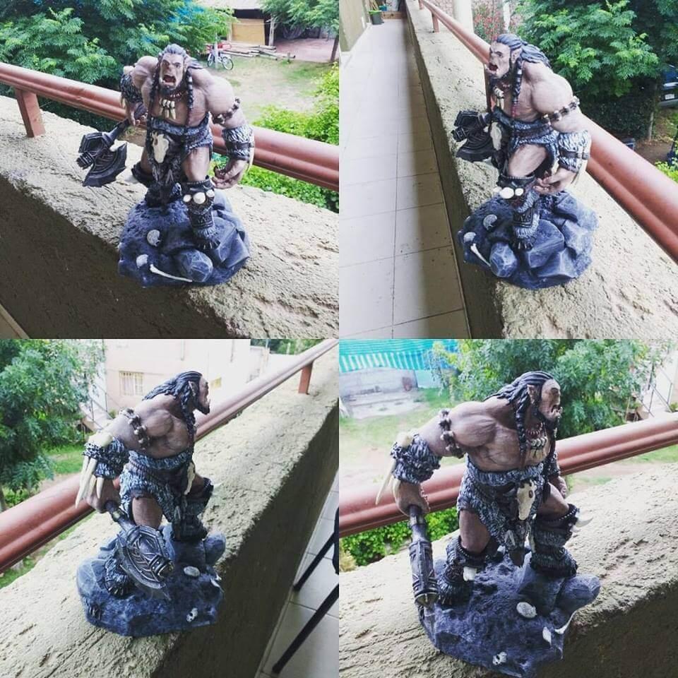 Durotan 3D Printing Figurine Photo 2