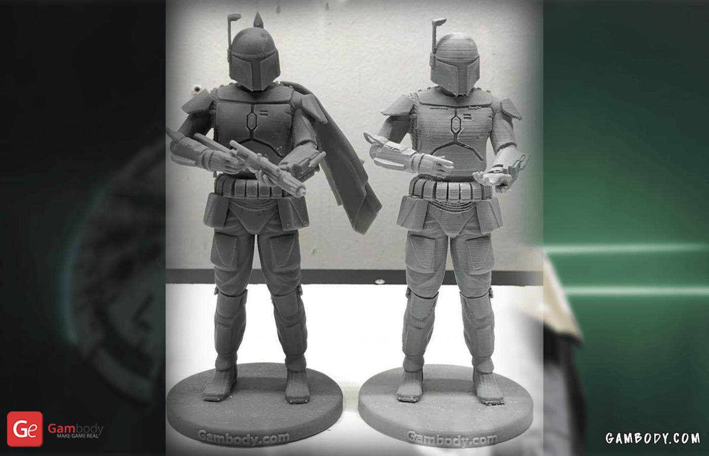 Boba Fett 3D Printing Figurine